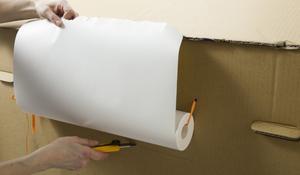 Krok VI - Zawieszanie papieru