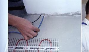 KROK IV - Prowadzenie kabli elektrycznych