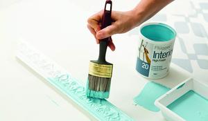 KROK II - Malowanie sztukaterii