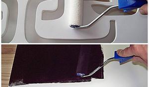 KROK III – Szlifowanie i malowanie zagłówka do łóżka